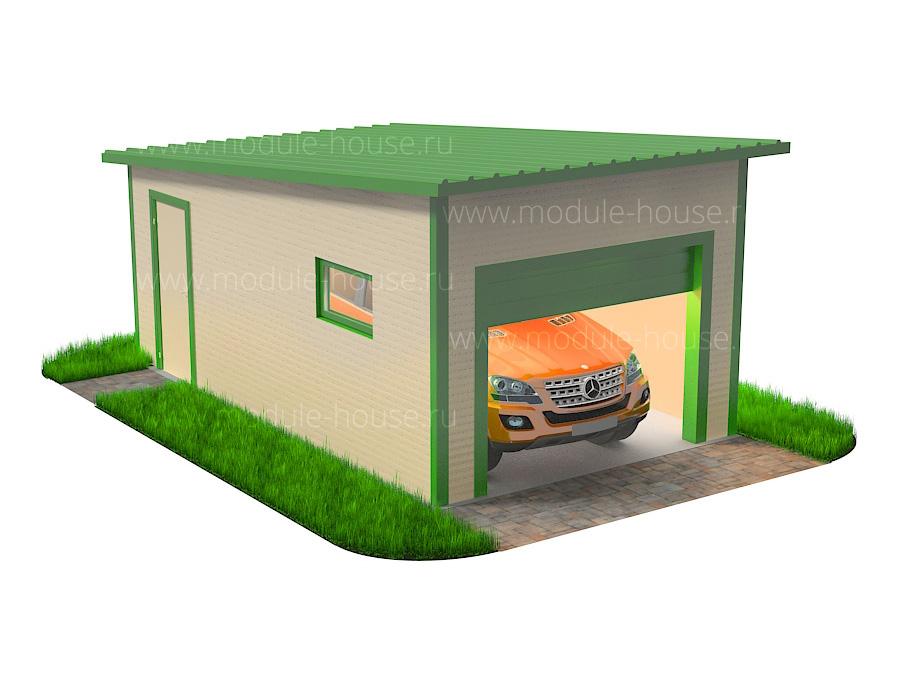 Расчет размеров гаража
