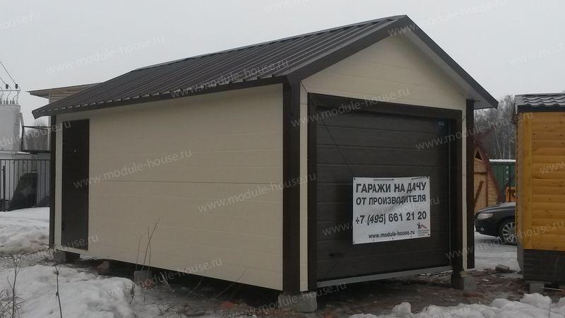 Построить гараж своими руками недорого 6 9 из сэндвич панелей 71