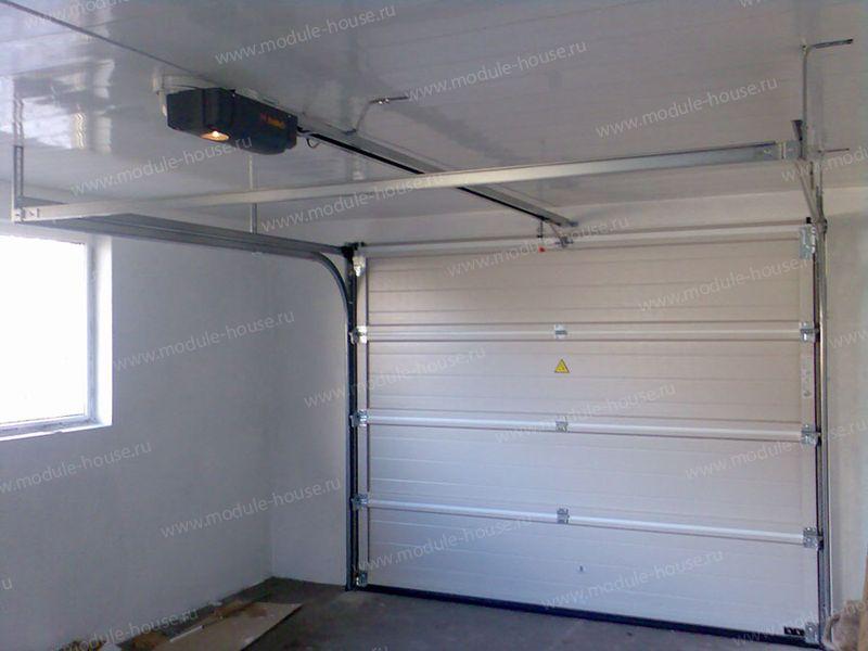 Проект гаража на машины с хозблоком